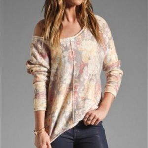 Free People Flower Bomb Sweater L